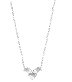 SNÖ OF SWEDEN - Luisa Small Pendant Necklace Silver