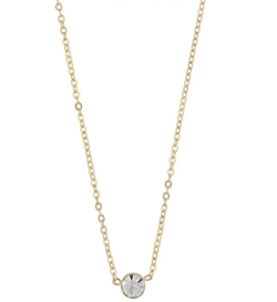 SNÖ OF SWEDEN - Josephine Small Pendant Necklace Guld