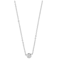SNÖ OF SWEDEN - Josephine Small Pendant Necklace Silver