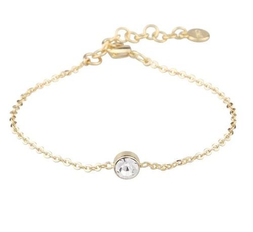 SNÖ OF SWEDEN - Josephine Chain Bracelet Guld