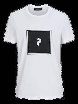 PEAK PERFORMANCE - Print Tee T-shirt Vit
