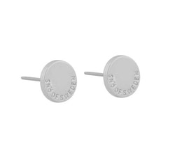 SNÖ OF SWEDEN - Lowa Small Earring Silver