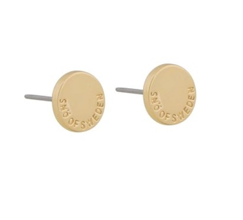 SNÖ OF SWEDEN - Lowa Small Earring Guld