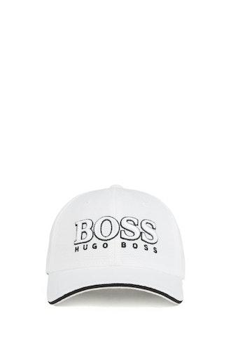 HUGO BOSS - Baseball Cap Vit