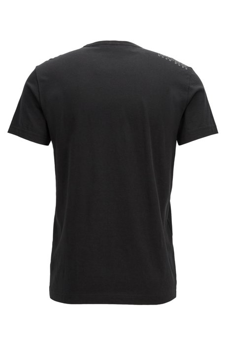 HUGO BOSS - Regular Fit Tee Svart