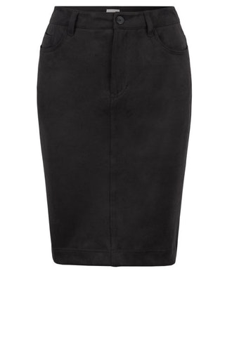 HUGO BOSS - Bachiara A-line Skirt Svart