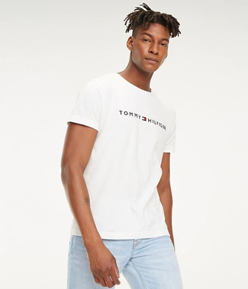 TOMMY HILFIGER - Core Tommy Logo Tee Vit
