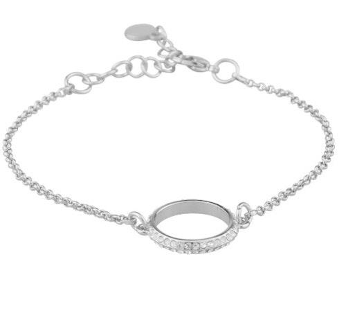 SNÖ OF SWEDEN - Gwen Chain Bracelet Silver
