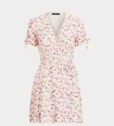 POLO RALPH LAUREN - Short Sleeve Casual Dress Blommig