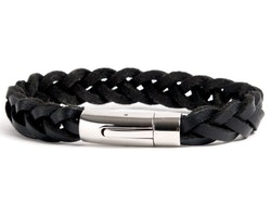 Armband BLACK LEATHER