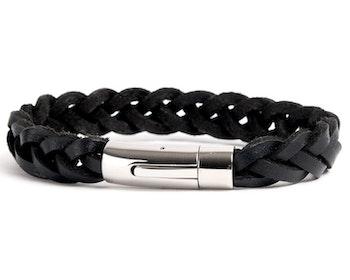 Armband BLACK LEATHER