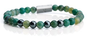 Armband GREEN BEADS
