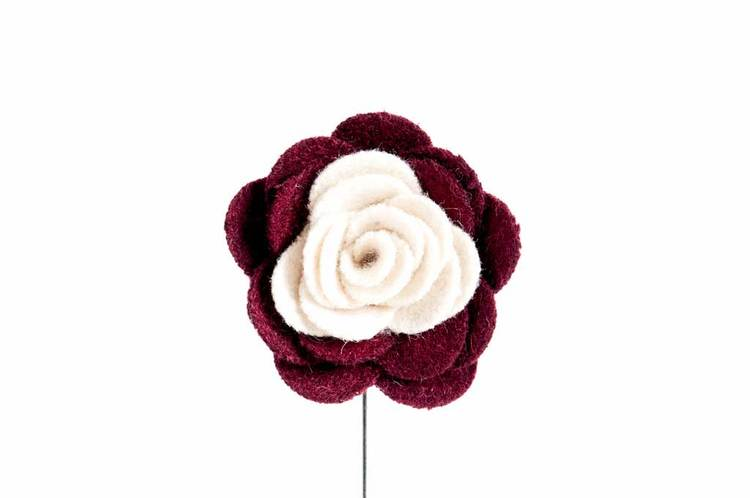 Kavajnål COTTON ROSE