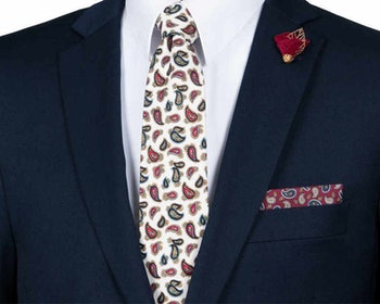 THE RED PAISLEY STYLE BOX