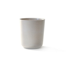 Grå kopp i bambufiber Medium