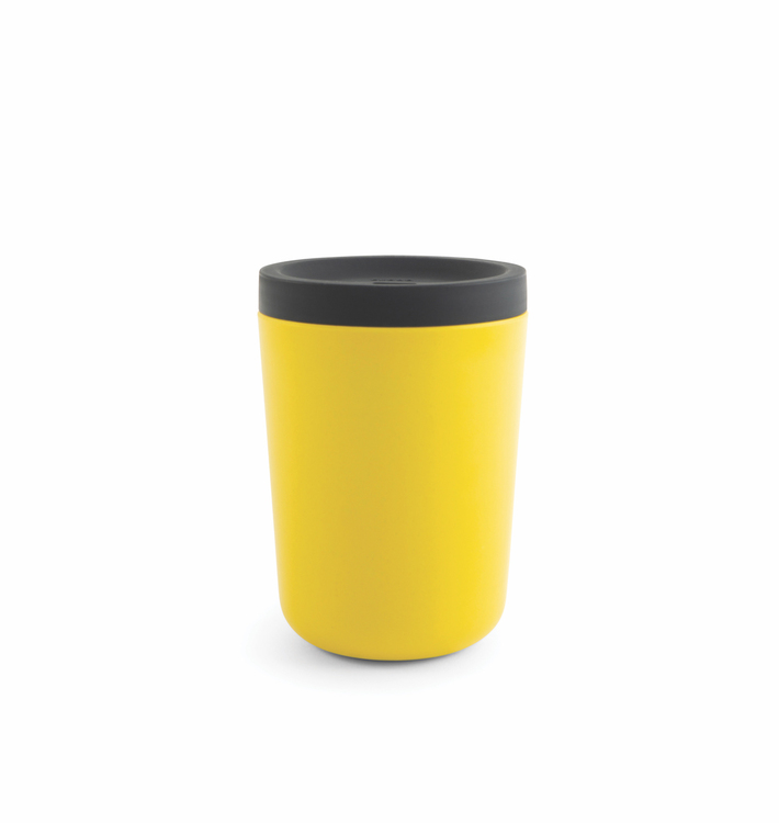Take away kaffekopp i bambu gul