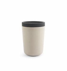 Take away kaffekopp i bambu grå