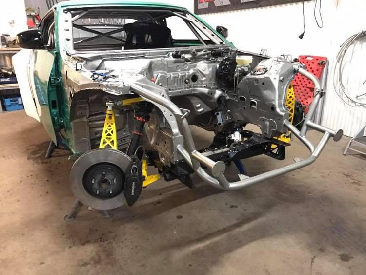 Styrvinkelkitt till Nissan 370Z