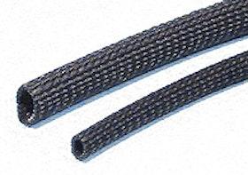Flexibel Flätad Glasfiber strumpa värmetålig