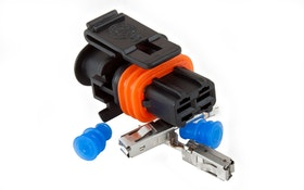 Kontaktdon 2-poligt hylsdon (LS9 generator)