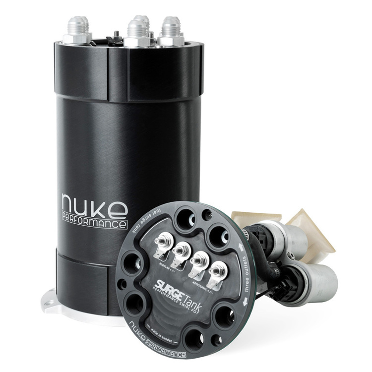 Catchtank för 1-3st interna pumpar 3L