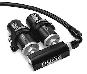 Fuel log 2x Nukefilter