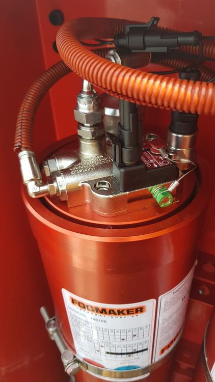 """Fogmaker sprinklersystem """"Elektrisk"""""""
