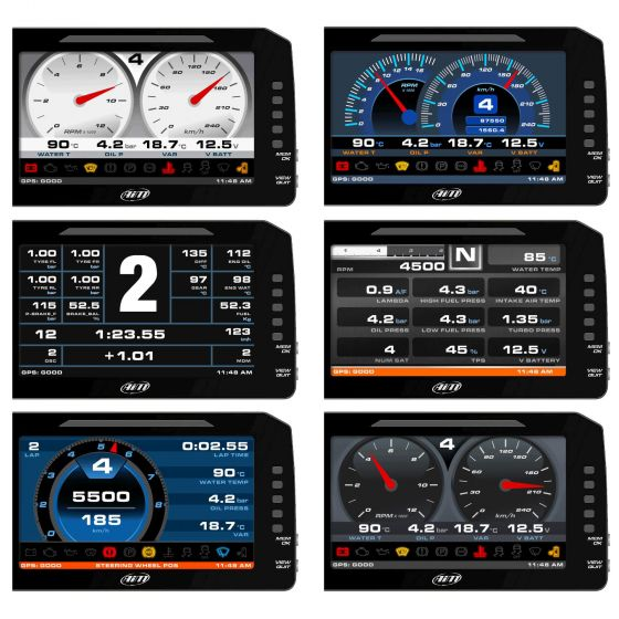 AIM Motorsport MXP Strada Dash 6""