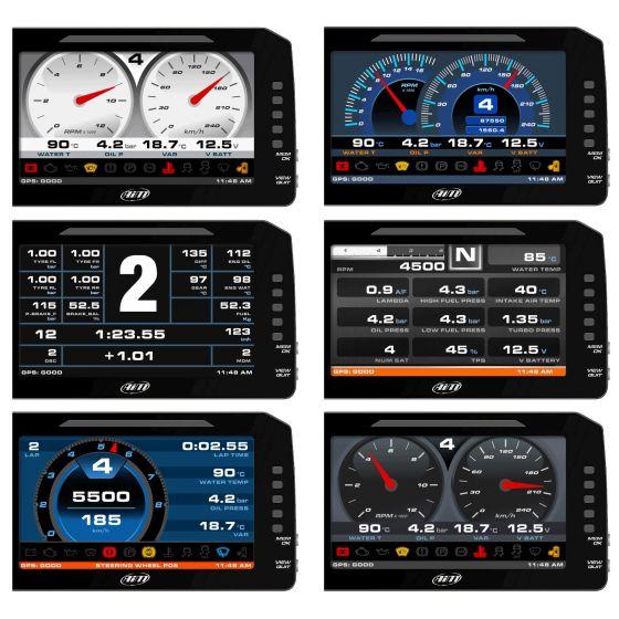 """AIM Motorsport MXP Dash Logger 6"""""""