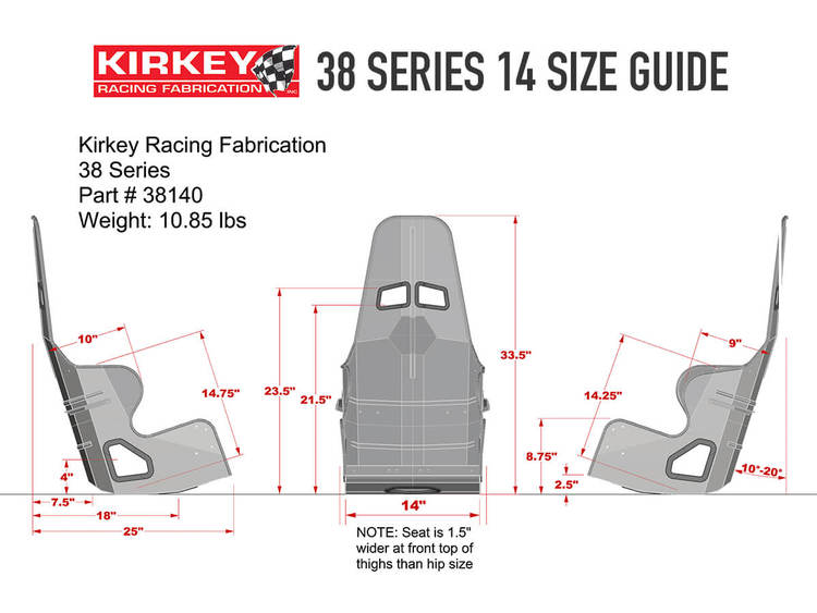 Kirkey 38 series