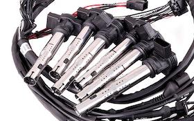 Kontakterad kabelhärva för BMW M50 inkl tändspolar och LSU 4.2