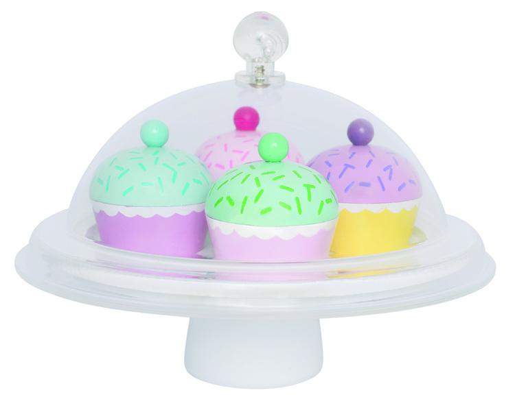 Kakfat (cupcakes) med kupa