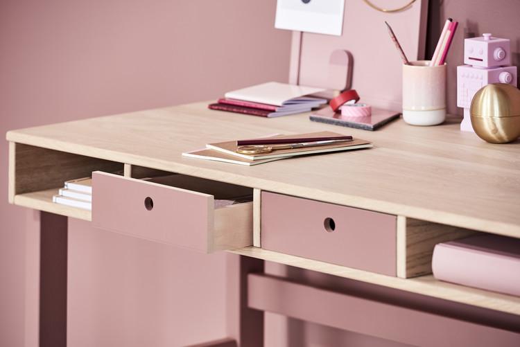 Skrivbord rosa