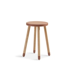 Skrivbordspall/side table rosa