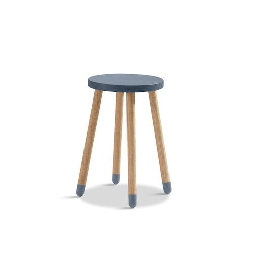 Skrivbordspall blå