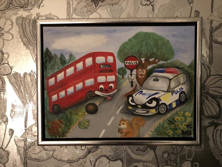 Den glada bussen i diket
