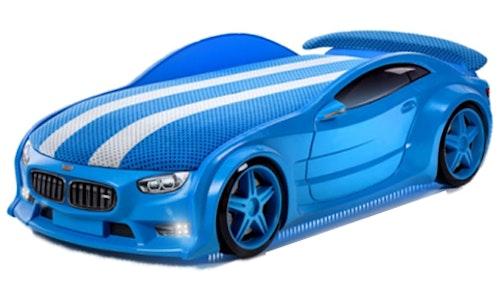Bilsäng NEO blå (inkl. madrass)