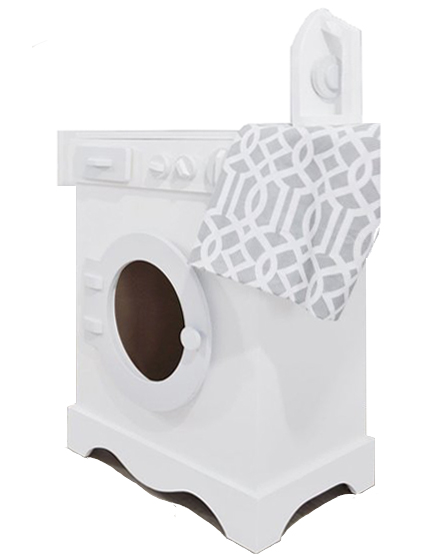 Tvättmaskin med strykjärn