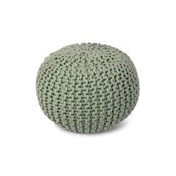 Bundy puff grön