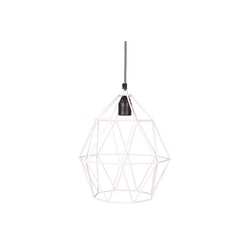 Wire lampa vit