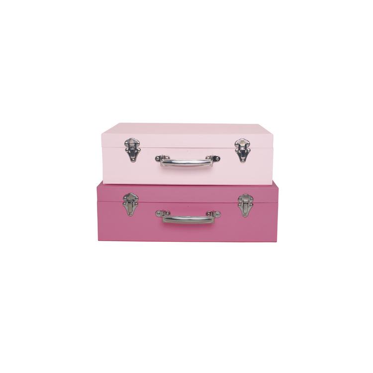 Koffert rosa