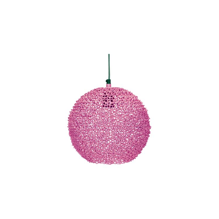 Scoop lampa rosa