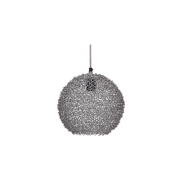 Scoop lampa grå