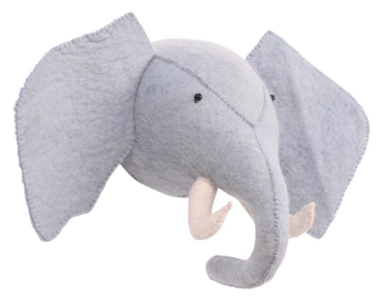 Blågrå elefant