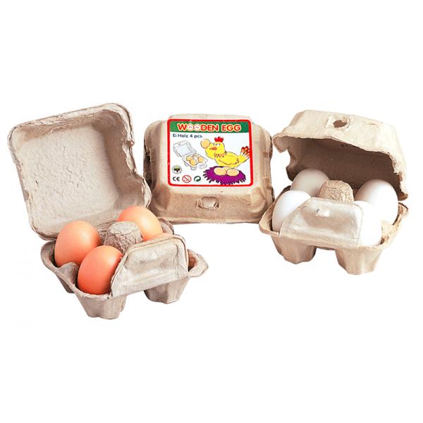Äggkartong fylld med ägg