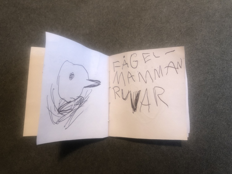 En fågel föds - bok av Kimberly