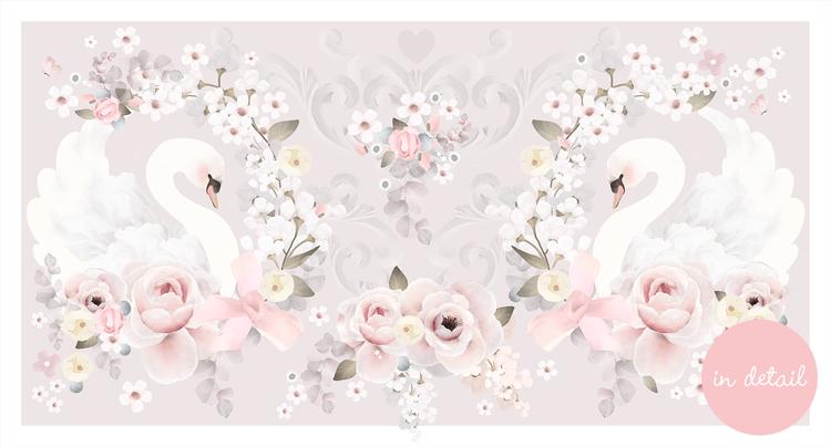 Swan Garden Floral
