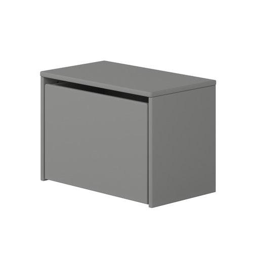 Förvaringsbänk 3-i-1 grå