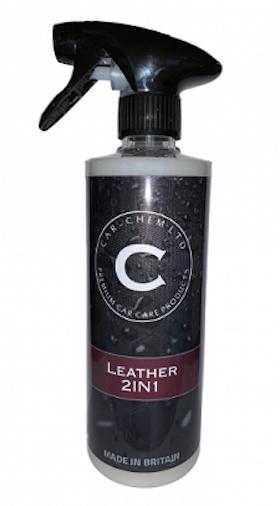 Leather 2IN1 500 ml. Slut i lager.