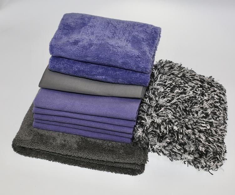 Tvätt- och polerpaket. Slut i lager på torkduken